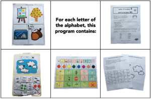 Letter and Word of the Week includes 5 supportive resources for each letter of the alphabet!