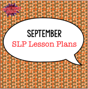 Free lesson plans for SLPs!! Don't miss out on this great way to organize and be prepared!