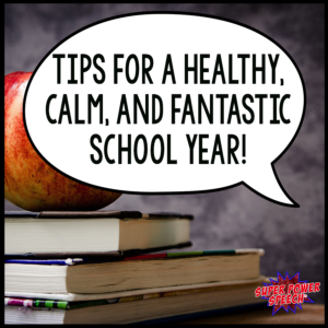 Tips for a healthy school year- educators need to keep themselves balanced!