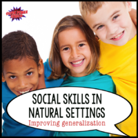 Social Skills in Natural Settings