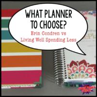 What planner to choose? (Erin Condren vs Living Well Spending Less)