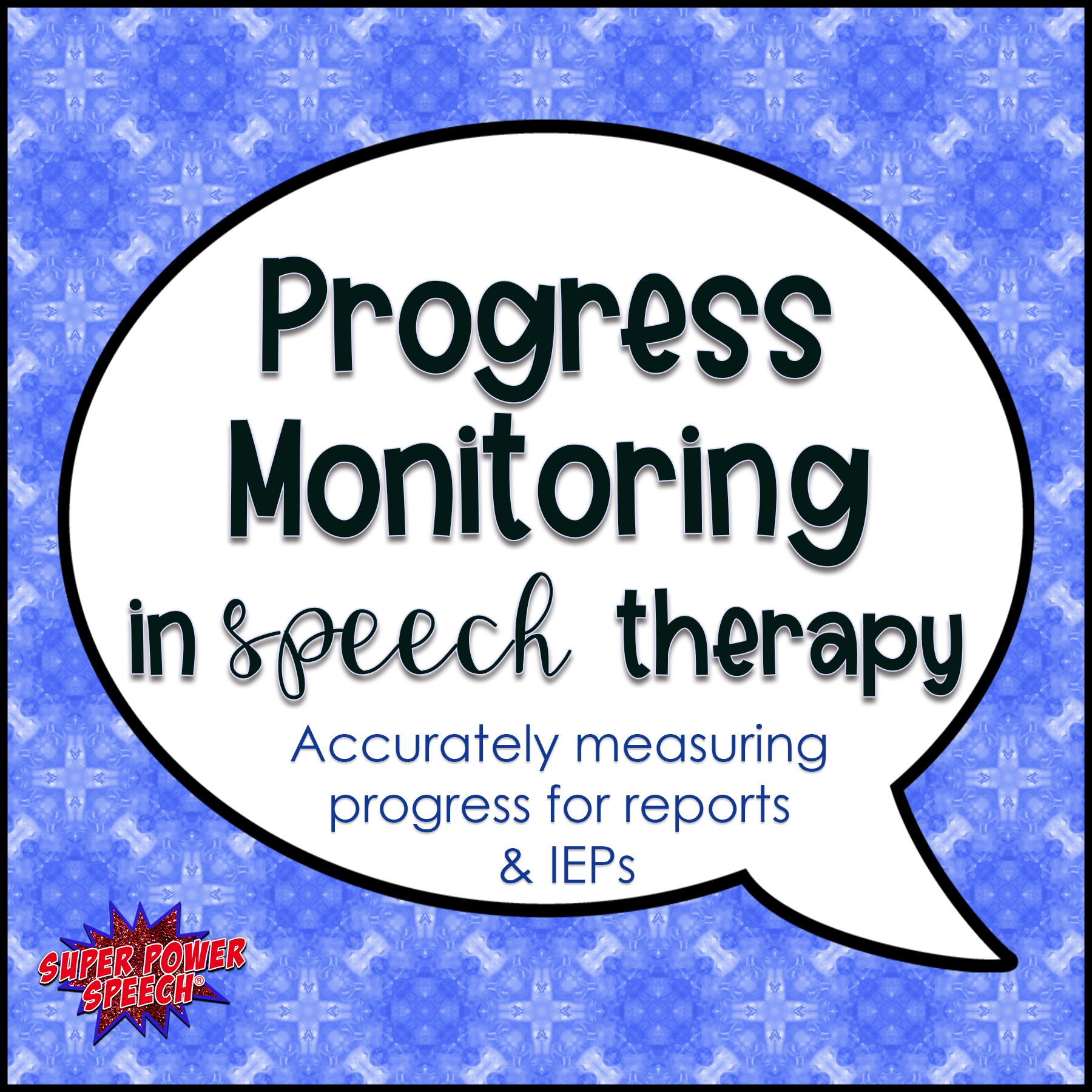 Progress Monitoring in Speech Therapy — Super Power Speech With Speech And Language Report Template