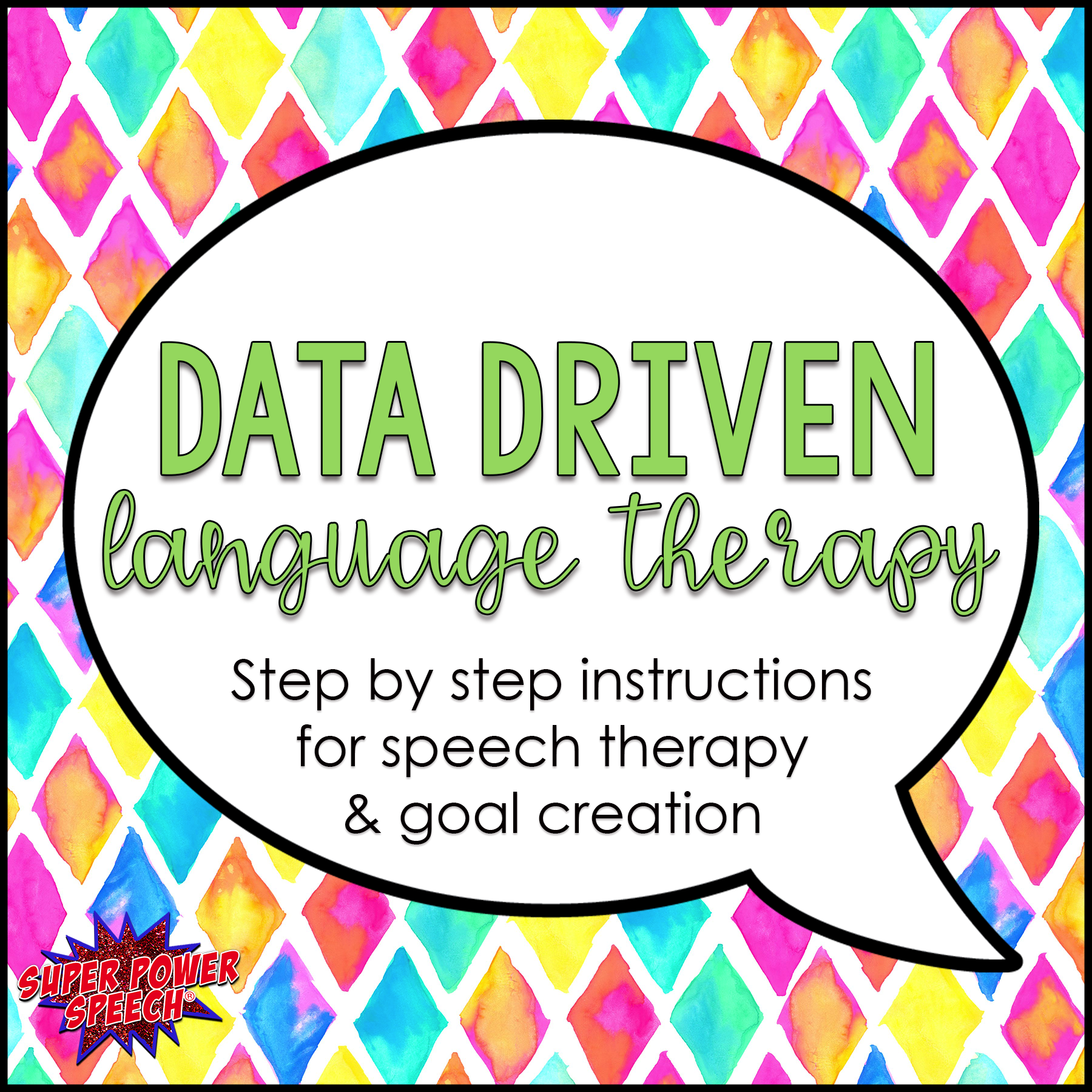 Data Driven Language Therapy