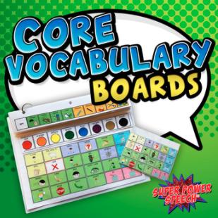 Core Vocabulary Boards Image